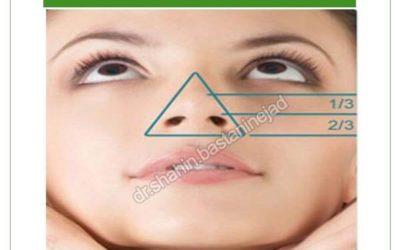 جراحی بینی گوشتی با اختلال رشد غضروف های تحتانی بینی